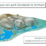 3D weergave van park Sonsbeek te Arnhem